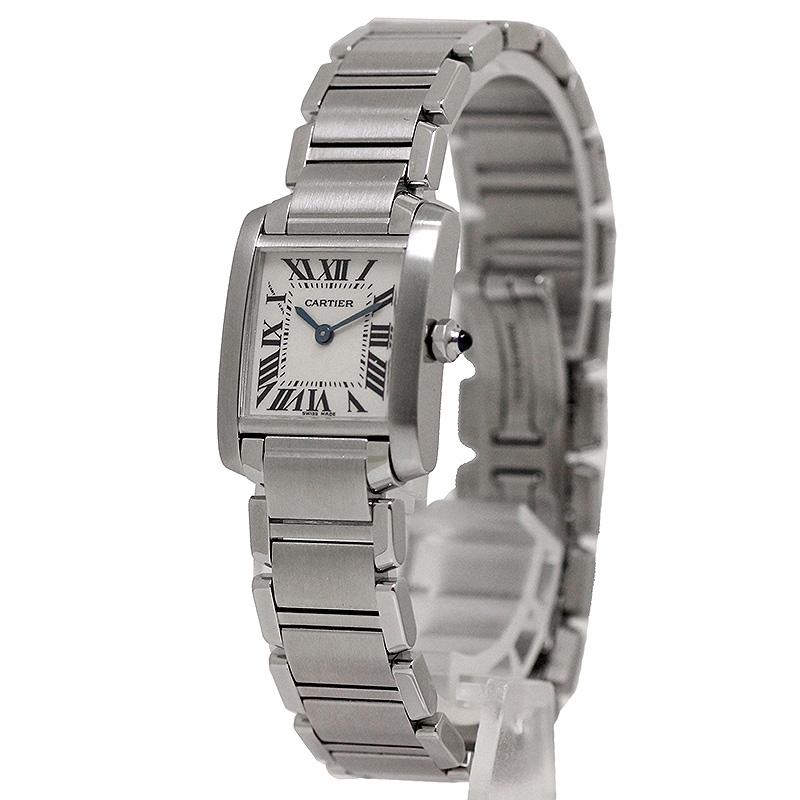 カルティエ タンクフランセーズ SM 腕時計 W51008Q3【美品】