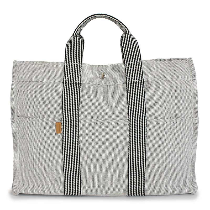 706b9a699e88 BrandCity: Hermes new fool toe tote bag MM gray | Rakuten Global Market