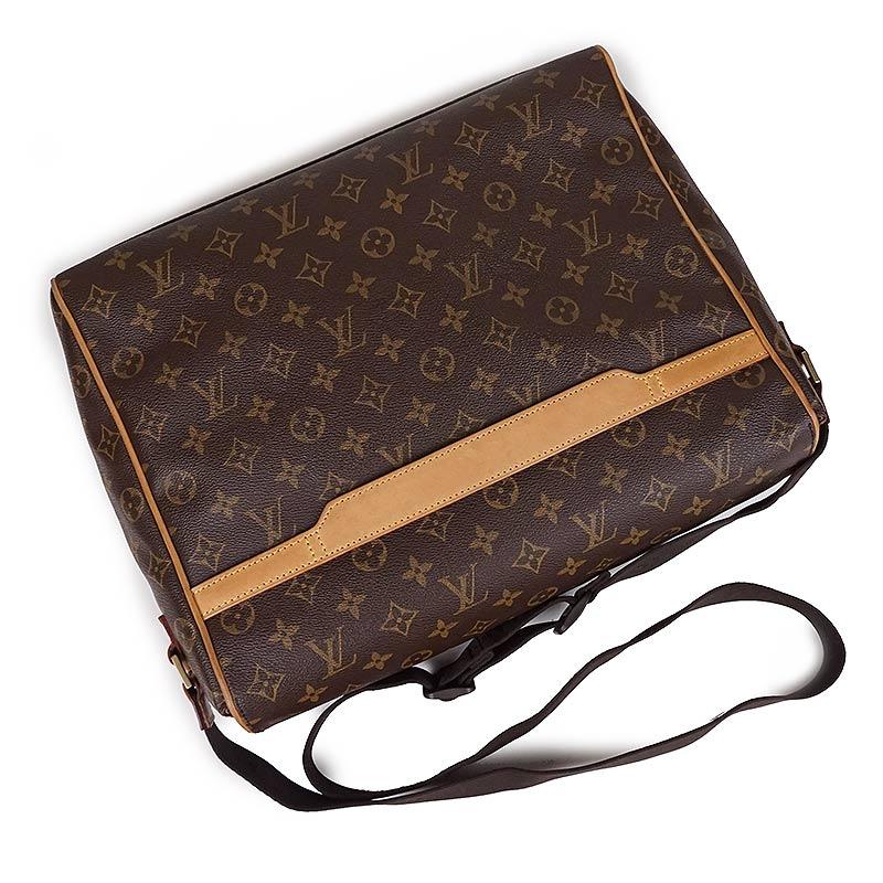 d5a5be45c61a BrandCity  Louis Vuitton monogram Abe s messenger bag M45257 ...