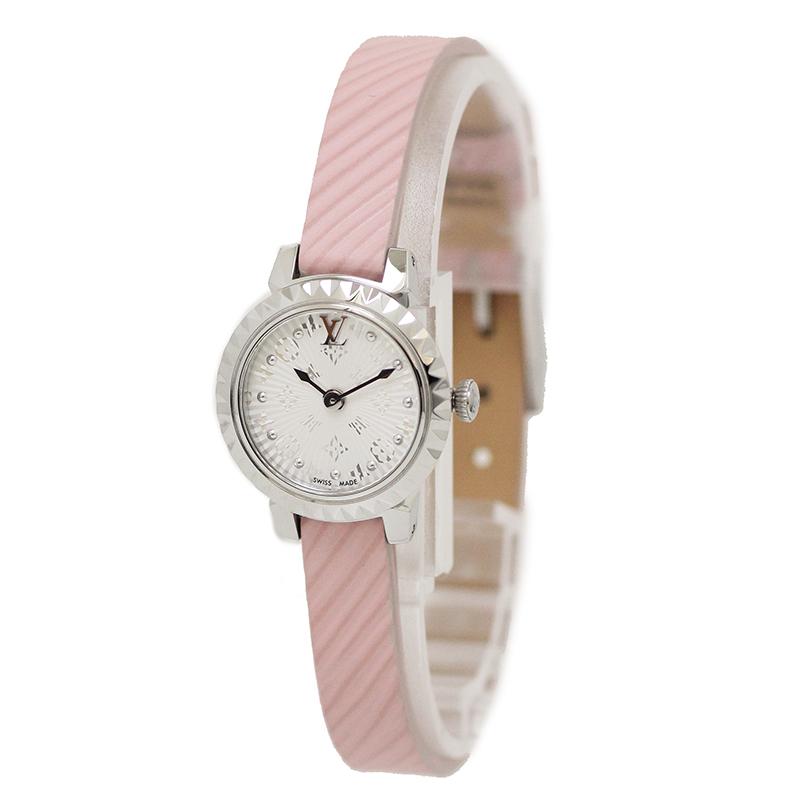 ルイ・ヴィトン タンブール モノグラム ビジュ レディース 腕時計 Q1M03 【未使用 展示品】