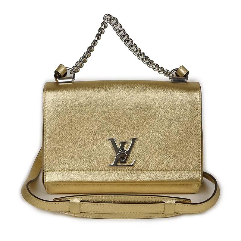 d707bf4508e6 BrandCity  Louis Vuitton lock me II BB shoulder bag M54845