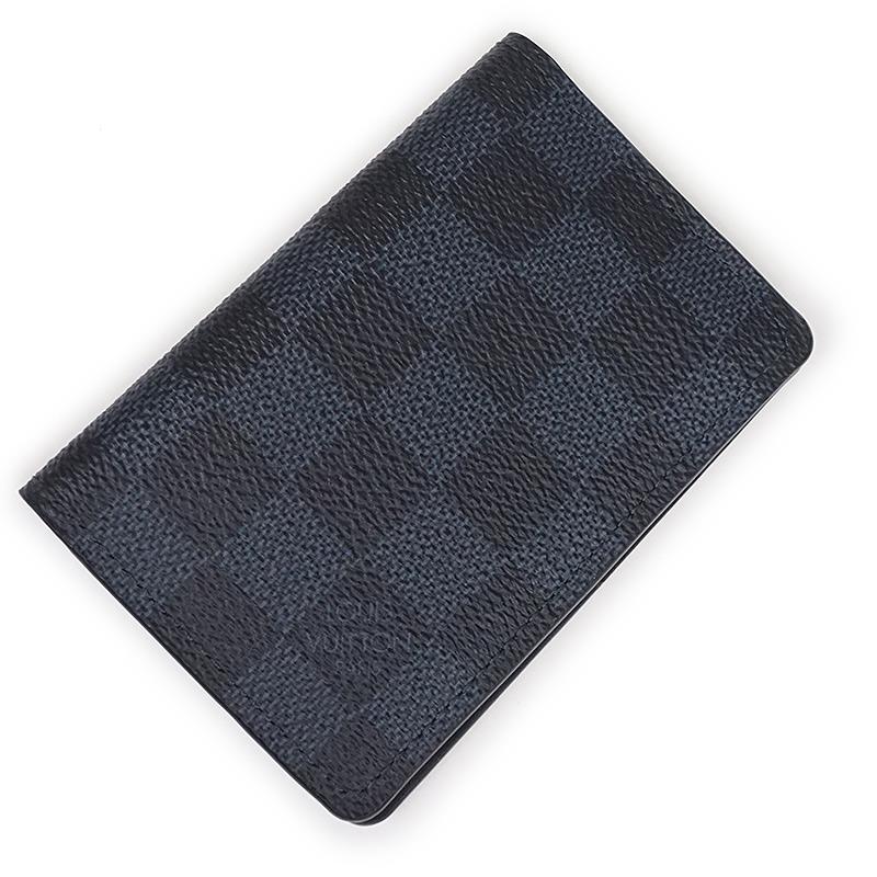 ルイ・ヴィトン ダミエ・コバルト オーガナイザー・ドゥ ポッシュ カードケース N63210 【未使用 展示品】