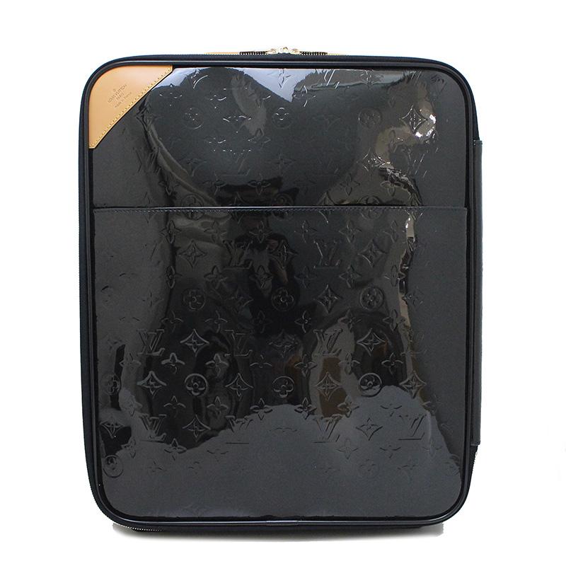 ルイ・ヴィトン ヴェルニ ペガス45 ブルーアンフィニ 紺 ネイビー系 キャリーバッグ M91422 【未使用 展示品】