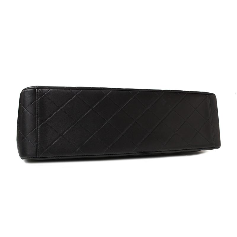 シャネルラムスキンデカマトラッセ34Wチェーンショルダーバッグブラック黒A01094【未使用展示品】