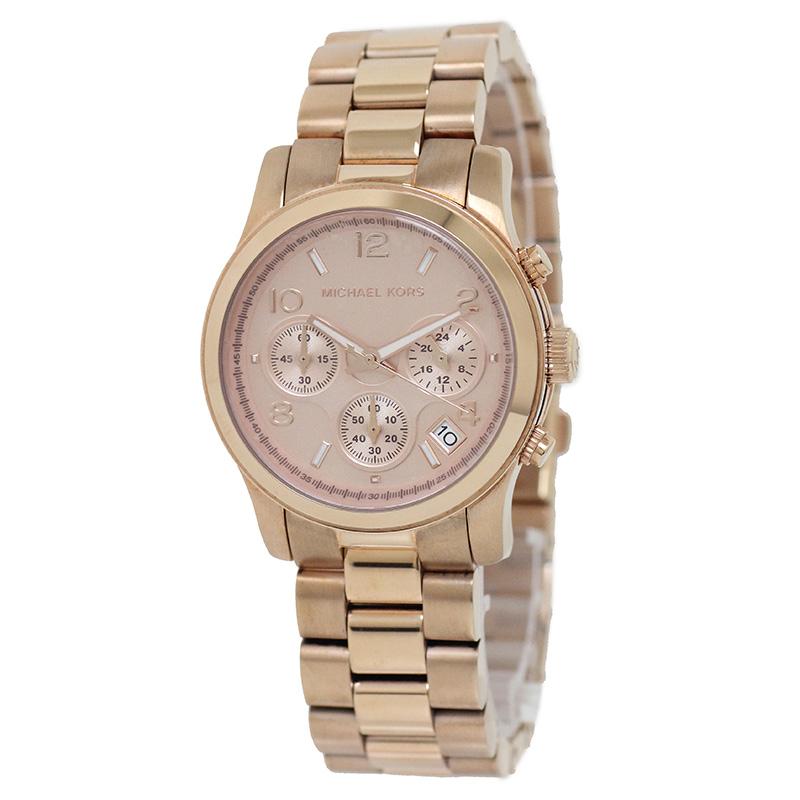 マイケルコース レディース ランウェイ クロノグラフ 腕時計 MK-5128 【新品・未使用品】