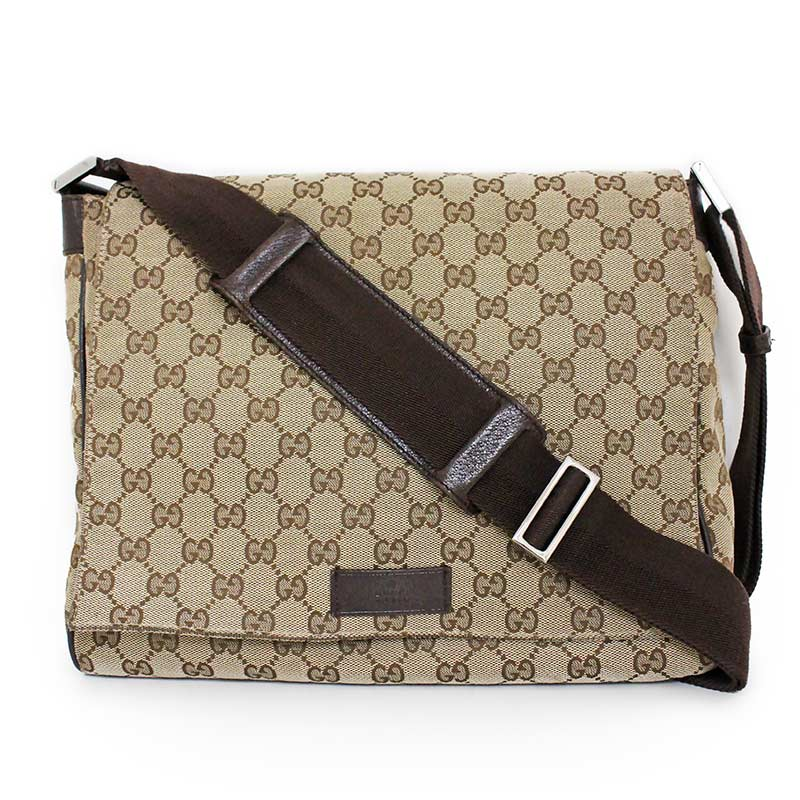 54967bca1ee BrandCity: Gucci GG canvas messenger bag 146236 | Rakuten Global Market