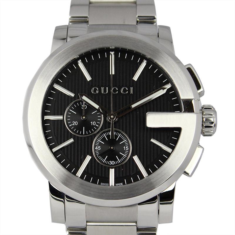 85bd9c879d5 It is 393106 I1600 1402 Gucci G Kurono large watch quartz men watch YA101204