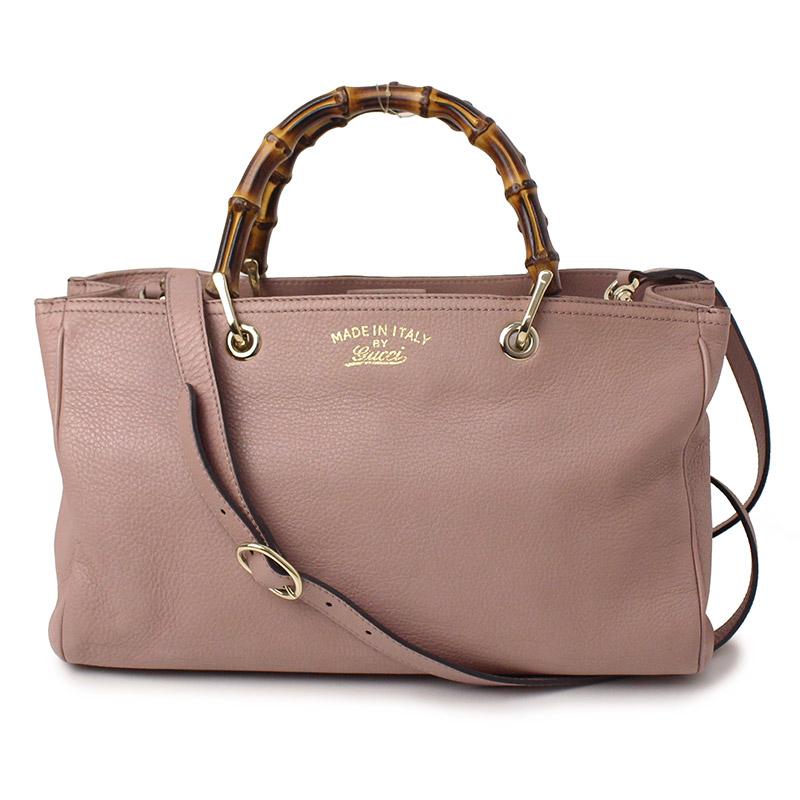 4cf42b55a41 BrandCity  Gucci bamboo shopper medium tote bag 323660