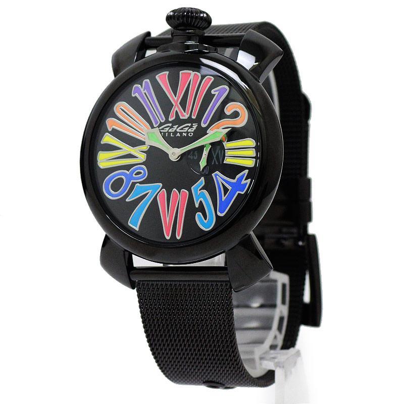 ガガミラノ マヌアーレ スリム 46MM 腕時計 5082.1【未使用 展示品】