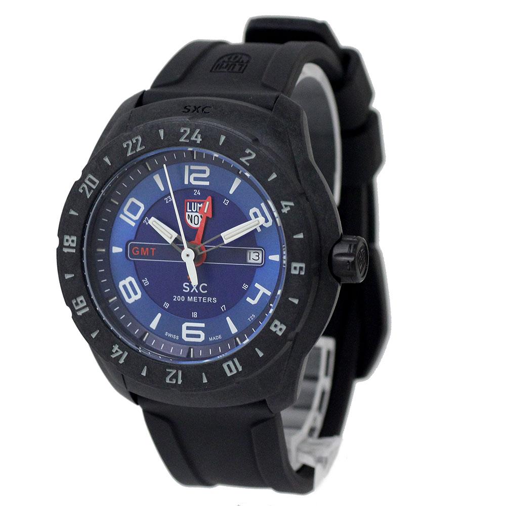 【新品・未使用品】ルミノックス SXC PC CARBON GMT 5020シリーズ メンズ 腕時計 クォーツ 5023 XS 箱付
