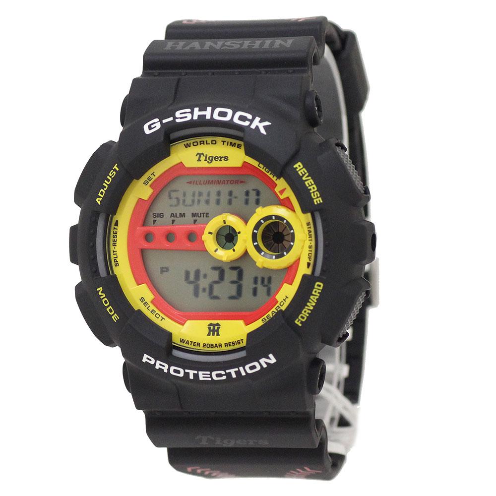 【新品・未使用品】CASIO G-SHOCK カシオ Gショック 阪神タイガース 2016年 リミテッドエディション クォーツ 腕時計 GD-100TG-1JR