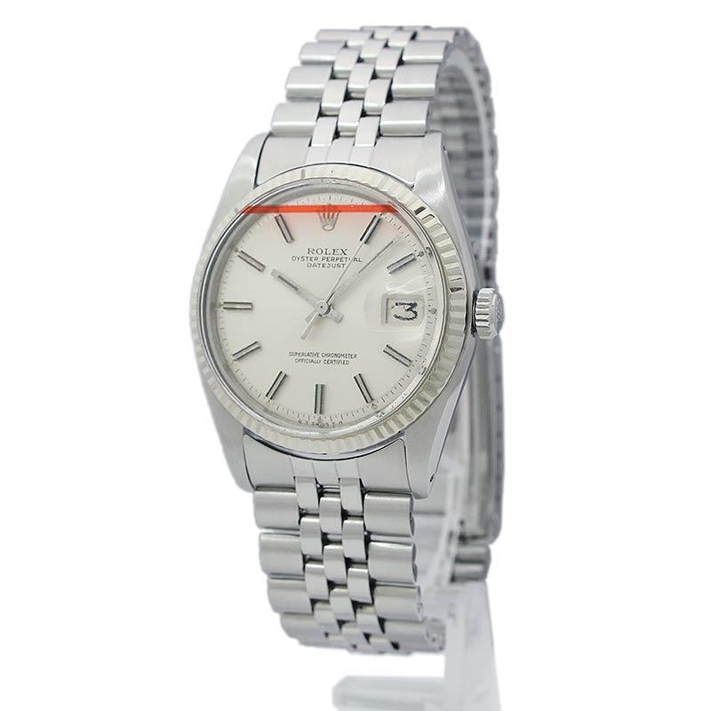 ロレックス デイトジャスト メンズ 腕時計 1601 3番 【中古】