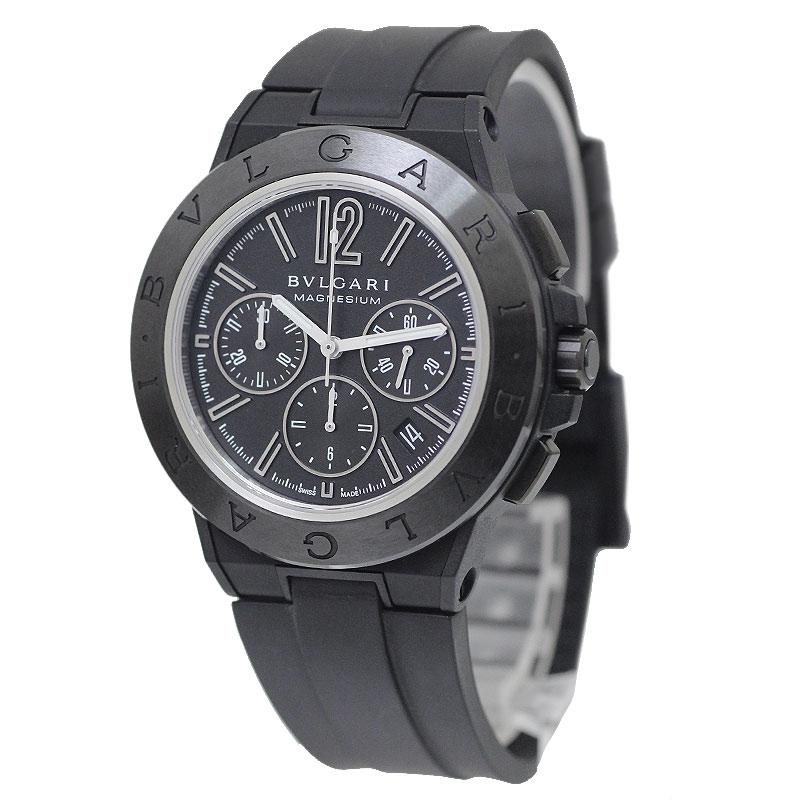 ブルガリ ディアゴノ マグネシウム クロノグラフ 42MM 自動巻き メンズ腕時計 DG42SMCCH【新品・未使用品】