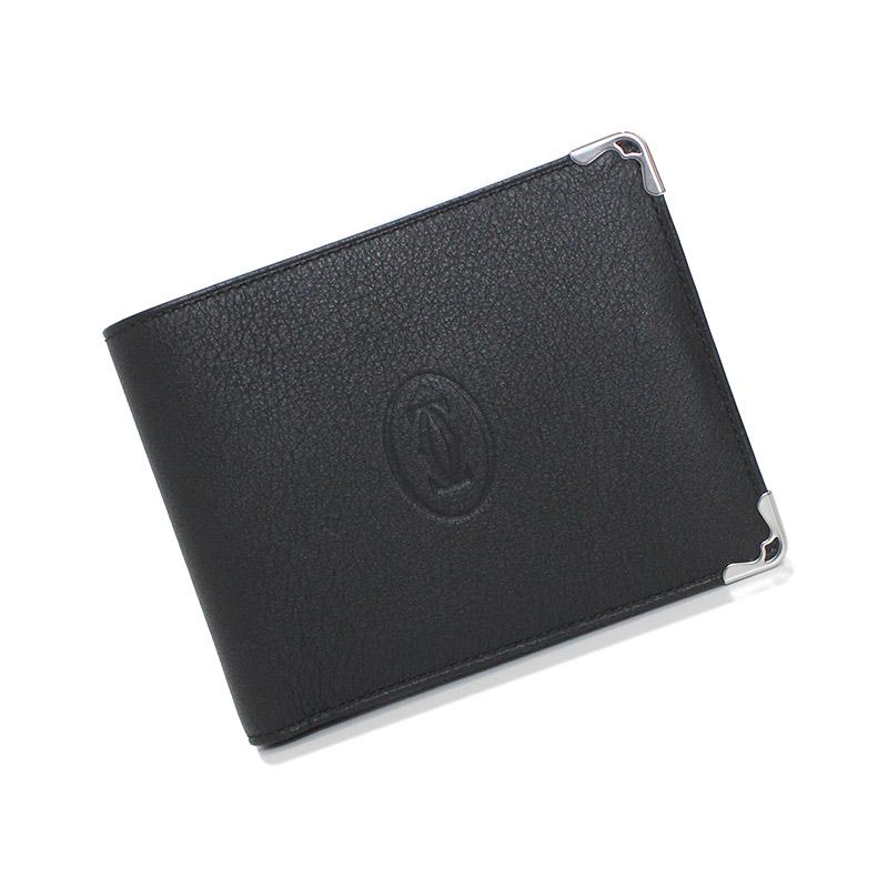 カルティエ マスト ドゥ カルティエ 二つ折り財布 L3001369【新品・未使用品】