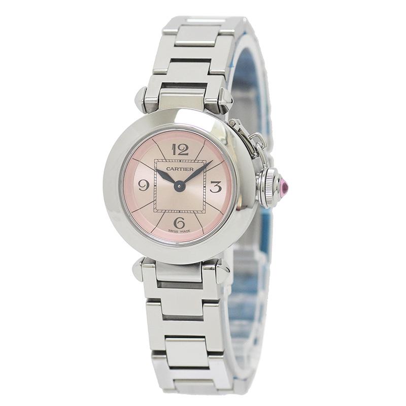 カルティエ ミス パシャ SM レディース 腕時計 W3140008 【美品】