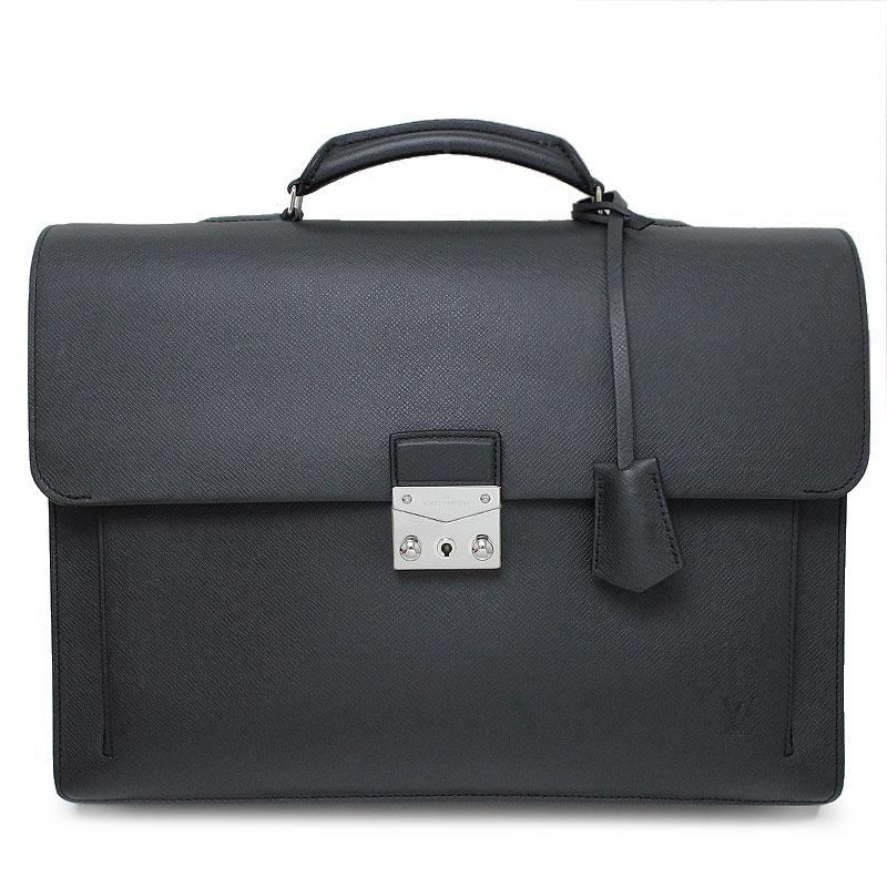 ルイ・ヴィトン タイガ アソシエ・カルターブル2 ビジネスバッグ M32729 黒 ブラック 【未使用 展示品】