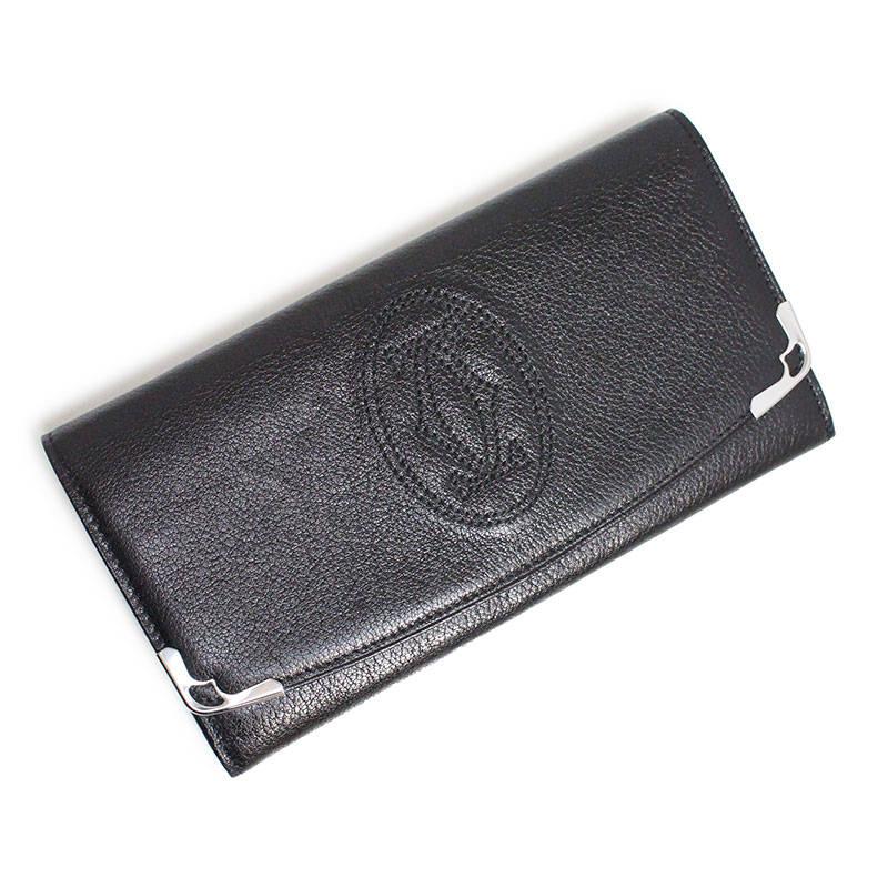 カルティエ マルチェロ ドゥ カルティエ 長財布 L3000911 ブラック 黒【新品・未使用品】