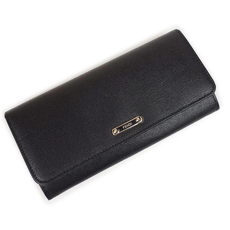 フェンディ 二つ折り長財布 8M0251 ブラック 黒【新品・未使用品】