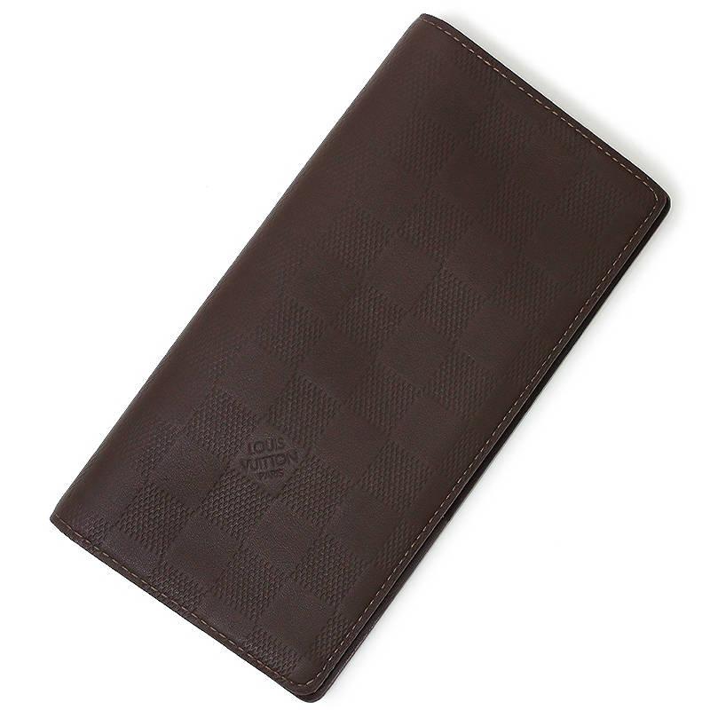 ルイ・ヴィトン アンフィニ ポルトフォイユ・ブラザ 長財布 ブラウン 茶 N63120【新品・未使用品】