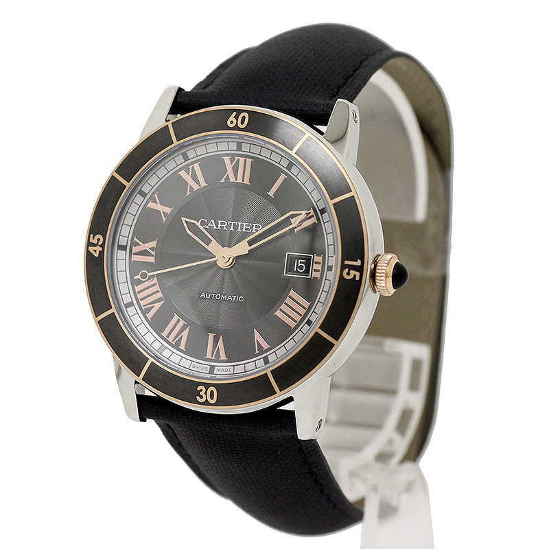カルティエ ロンド クロワジエール ドゥ カルティエ メンズ 腕時計 W2RN0005 【新品・未使用品】