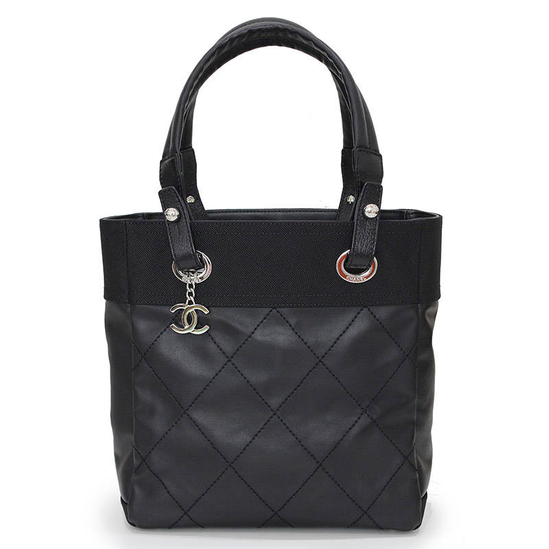 1f768771cf66 BrandCity: Chanel Paris Biarritz Small tote bag black black A34208 ...