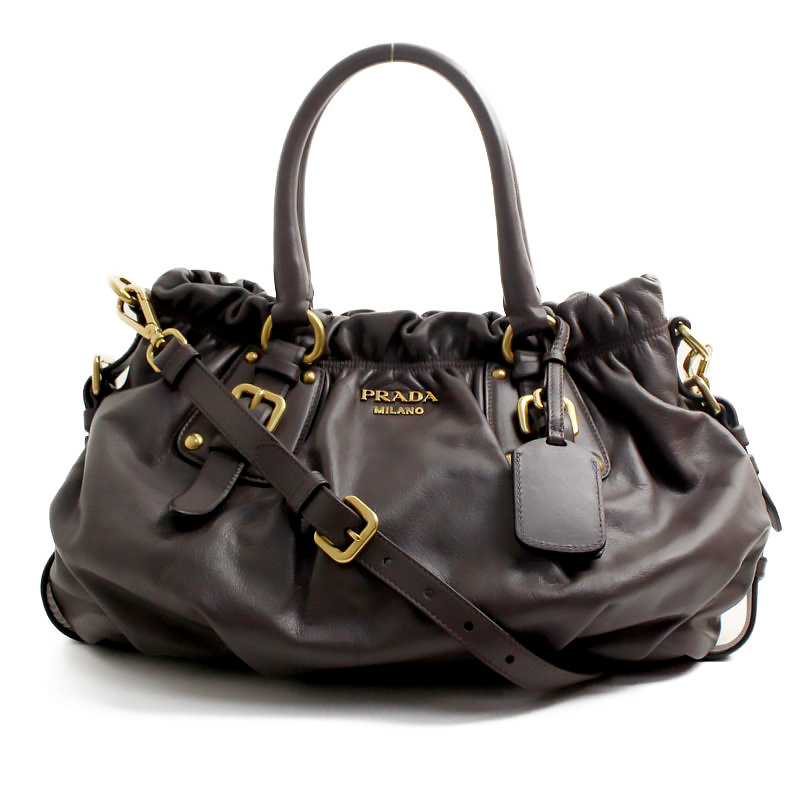 438ffb94c565 BrandCity: Prada leather 2WAY handbag BR4259 | Rakuten Global Market