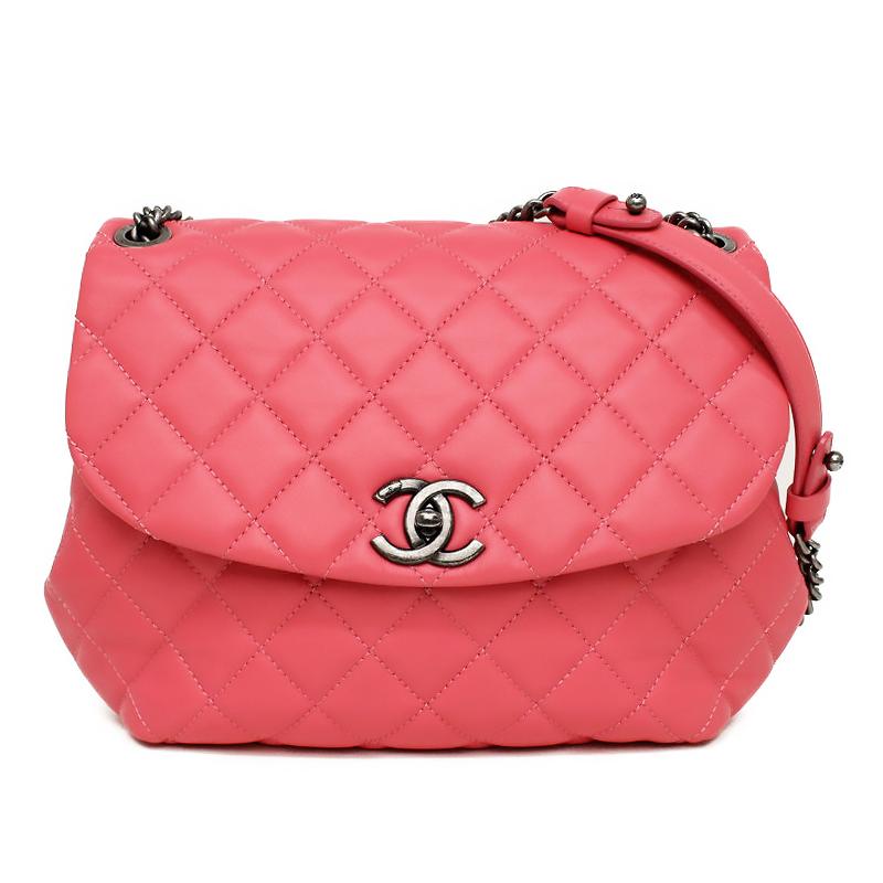 BrandCity  Chanel matelasse chain shoulder bag pink A93618  0c35cc99e01