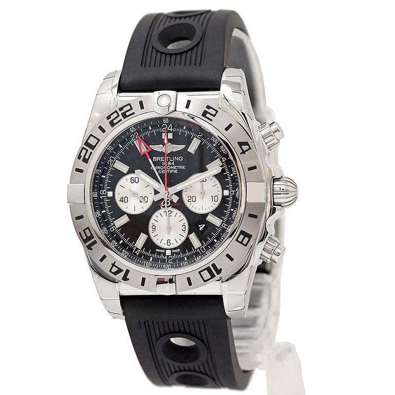 ブライトリング クロノマット 47 GMT 自動巻き メンズ 腕時計 AB0413B9 BD17 【新品・未使用品】