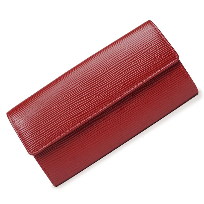 ルイ・ヴィトン エピ ポルトフォイユ・サラ 長財布 レッド 赤 M6374M【新品・未使用品】