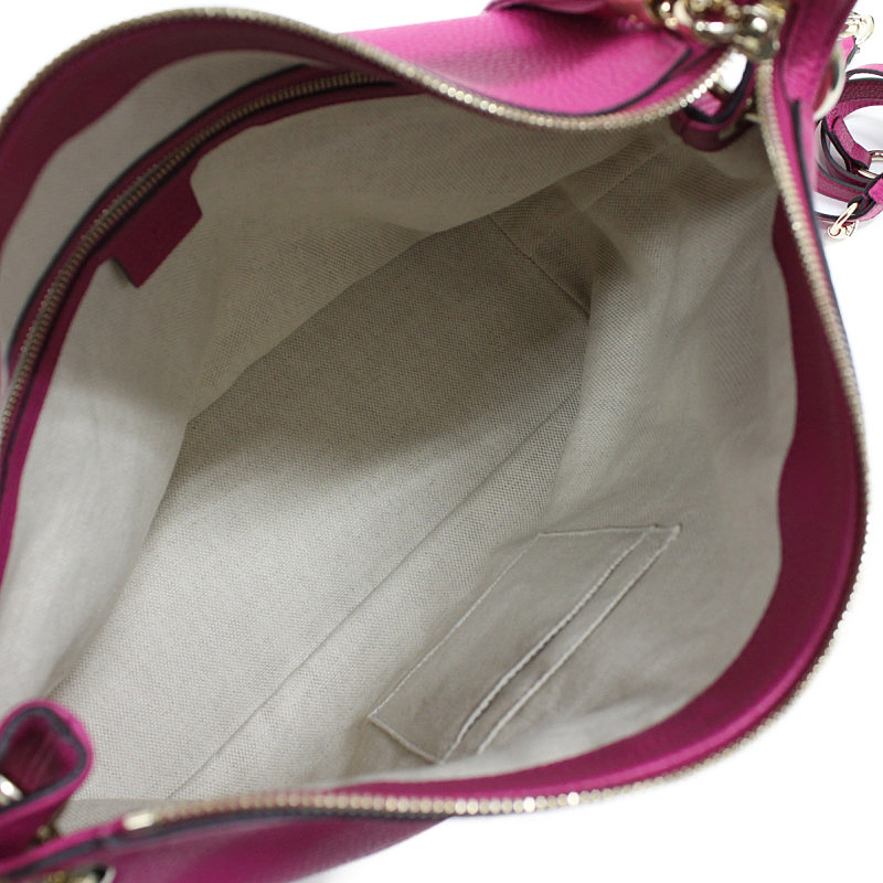 4accce205685 BrandCity: Gucci Soho leather 2way shoulder bag pink 408825 ...