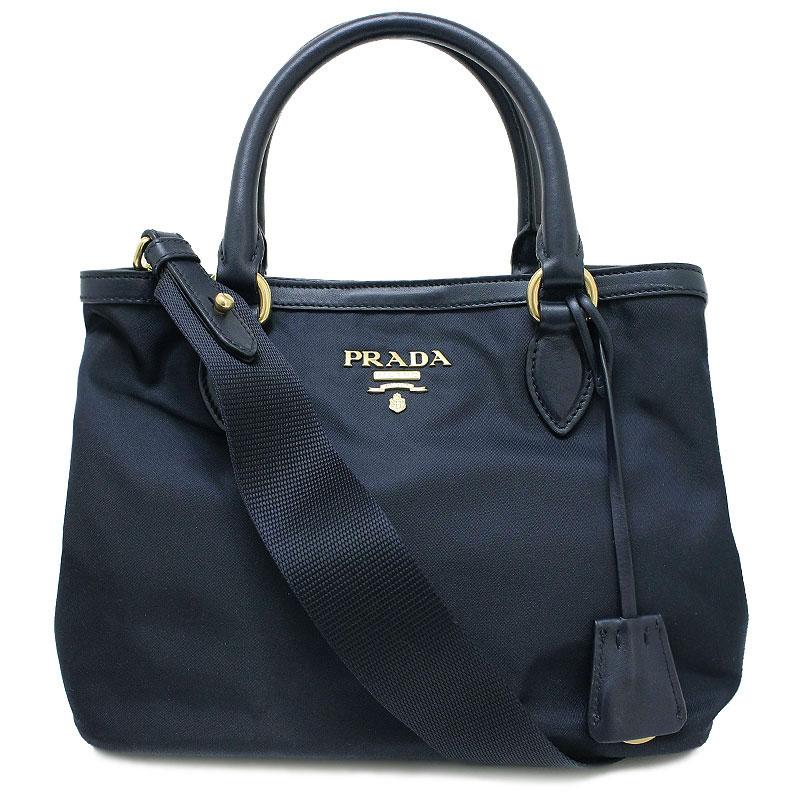 743566831806 BrandCity: Blue of Prada nylon 2WAY handbag shoulder bag 1BA172 navy ...