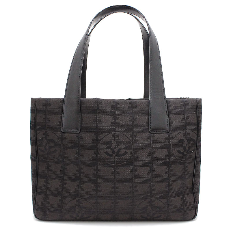 284b088bbc59 BrandCity: Chanel current style bell line tote bag PM A20457 marron ...