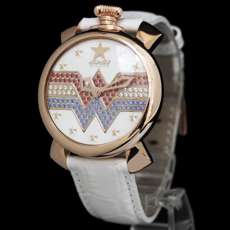 ガガミラノ ワンダーウーマン 世界175本限定 40mm クォーツ ユニセックス 腕時計 5021.WW【新品・未使用品】