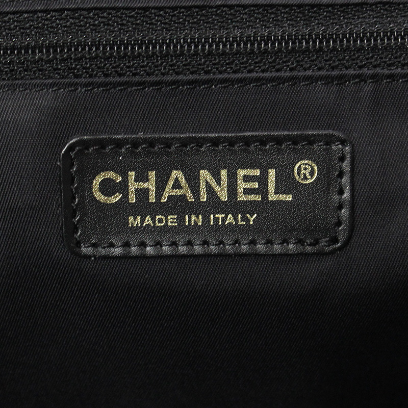 9c4d21f3ea67 BrandCity: Chanel current style bell line tote bag MM black A15991 ...