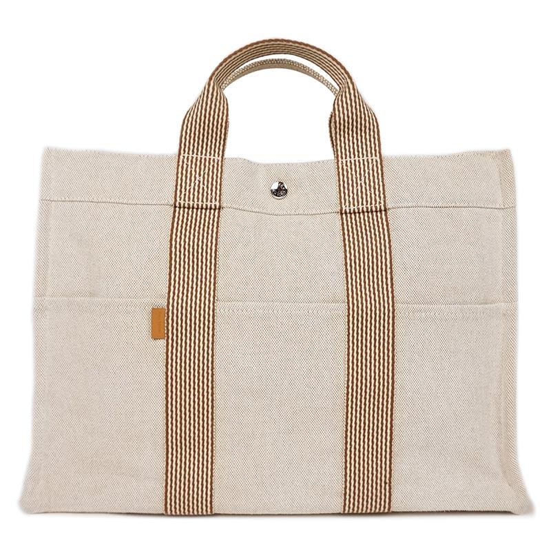 51f3383d60b6 BrandCity  Hermes new fool toe tote bag MM is natural