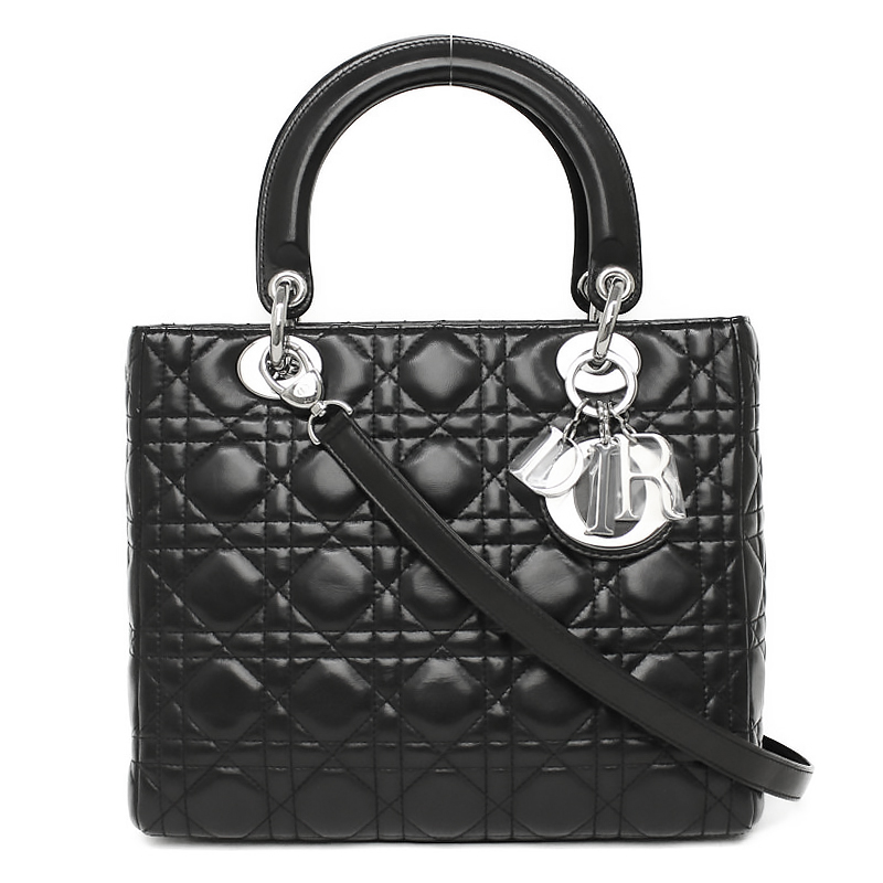 brand  Dior  the reference list price  518,400 yen  material  Lambskin   color  ノアール (silver metal fittings)  size (cm)  about W23 .5cm X H20 .5cm  X ... c7bfba4eaf