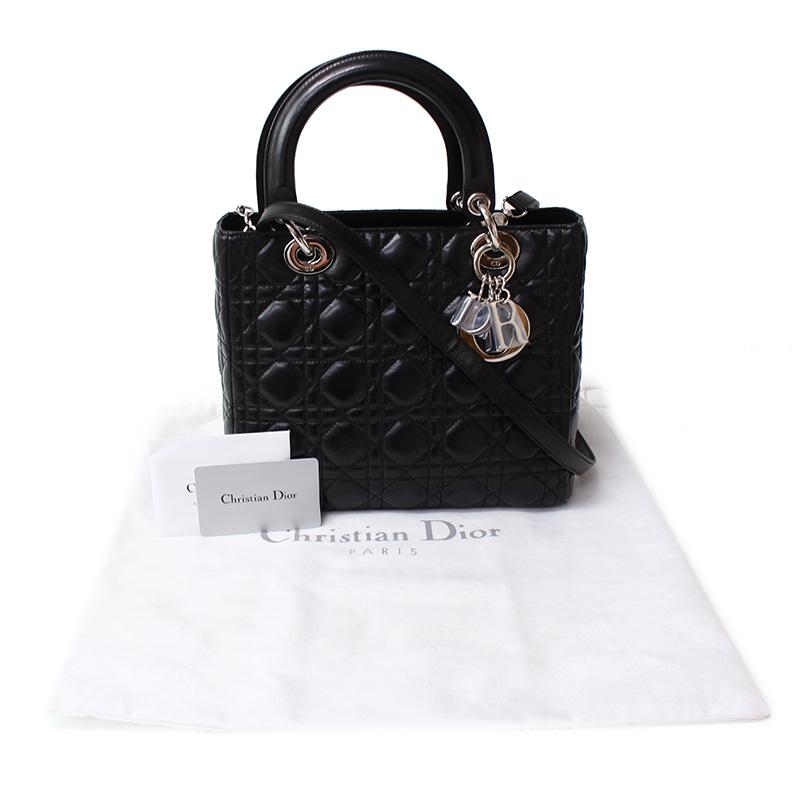 BrandCity  Christian Dior lambskin lady Dior 2WAY bag CAL44551 ... 5764493f2c