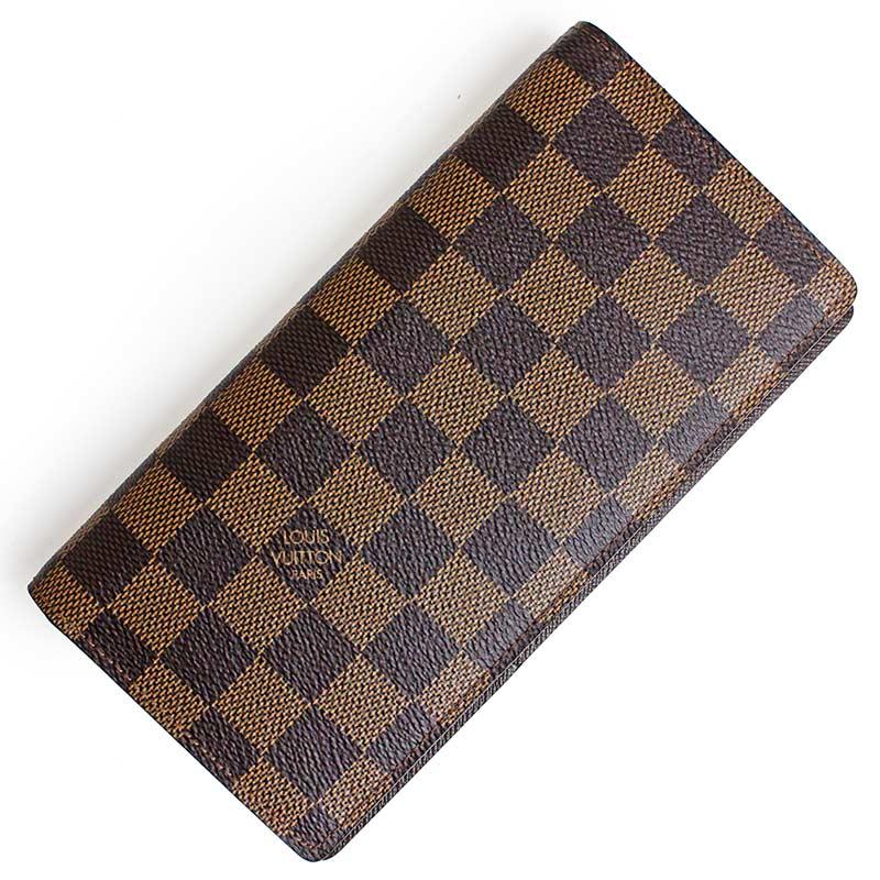 ルイ・ヴィトン ダミエ ポルトフォイユ・ブラザ 二つ折り財布 N60017 【新品・未使用品】