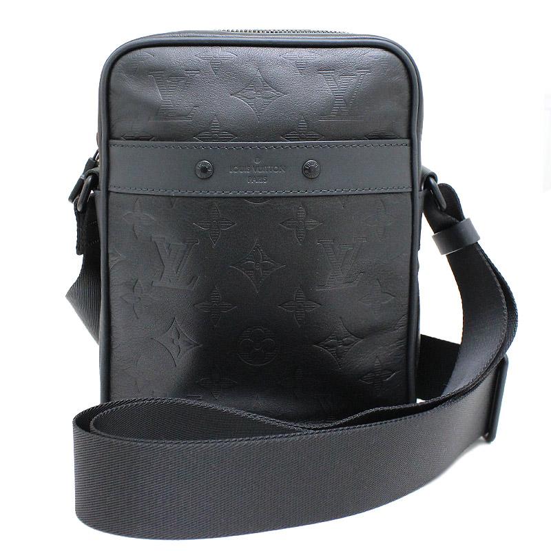 ルイ・ヴィトン モノグラム・シャドウ ダヌーブPM ショルダーバッグ 黒 ブラック M43681 【新品・未使用品】