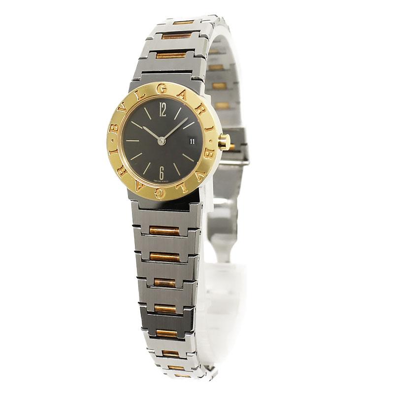 ブルガリ ブルガリ 腕時計 レディース BB26SGD SS×K18YG【中古】