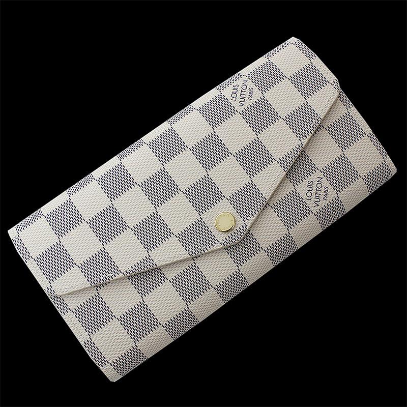 ルイ・ヴィトン アズール ポルトフォイユ・サラ 二つ折り長財布 N63208 【新品・未使用品】