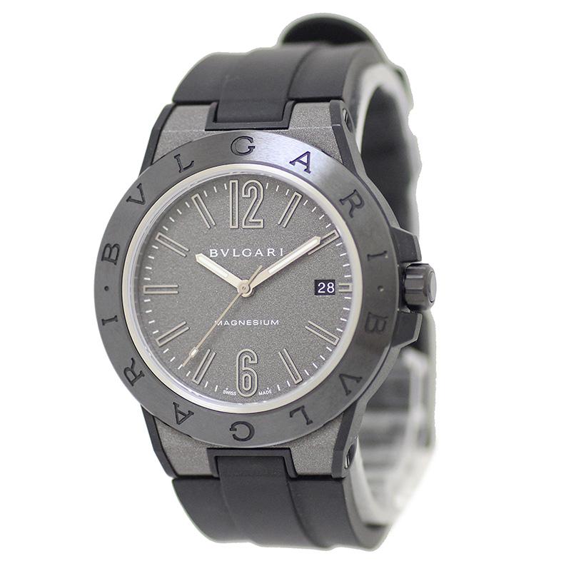 ブルガリ ディアゴノ マグネシウム 41MM 自動巻き メンズ腕時計 102307 DG41C14SMCVD 箱付【未使用 展示品】