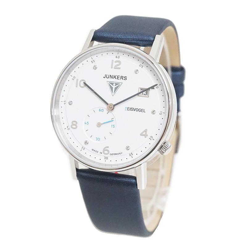 ユンカース Eisvogel F13 6731-3 クォーツ レディース 腕時計 箱付【新品・未使用品】