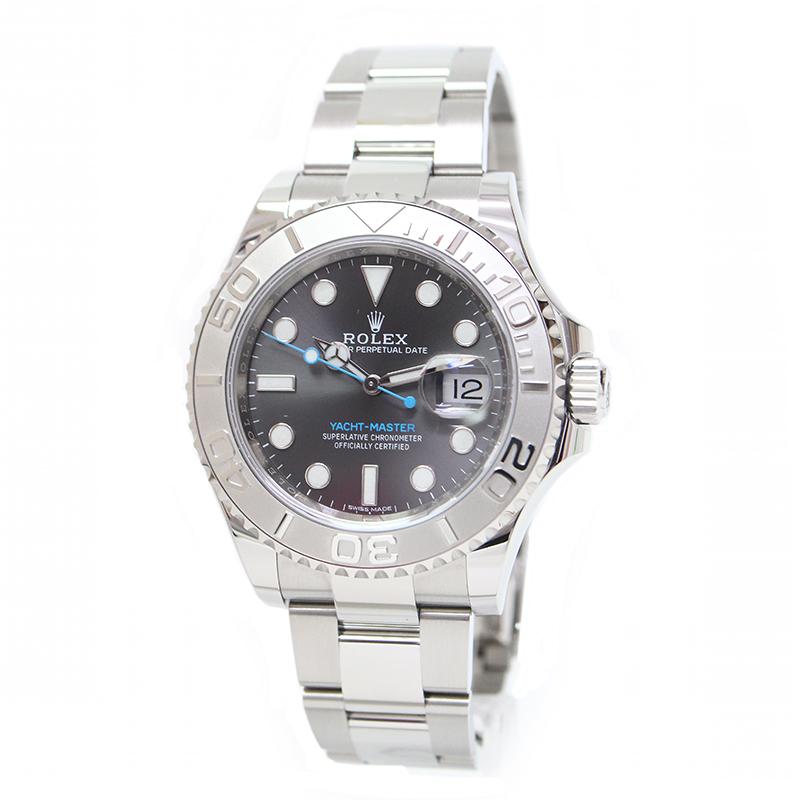 ロレックス ヨットマスター 40 ロレジウム ダークロジウム ランダム メンズ 腕時計 116622 【新品・未使用品】
