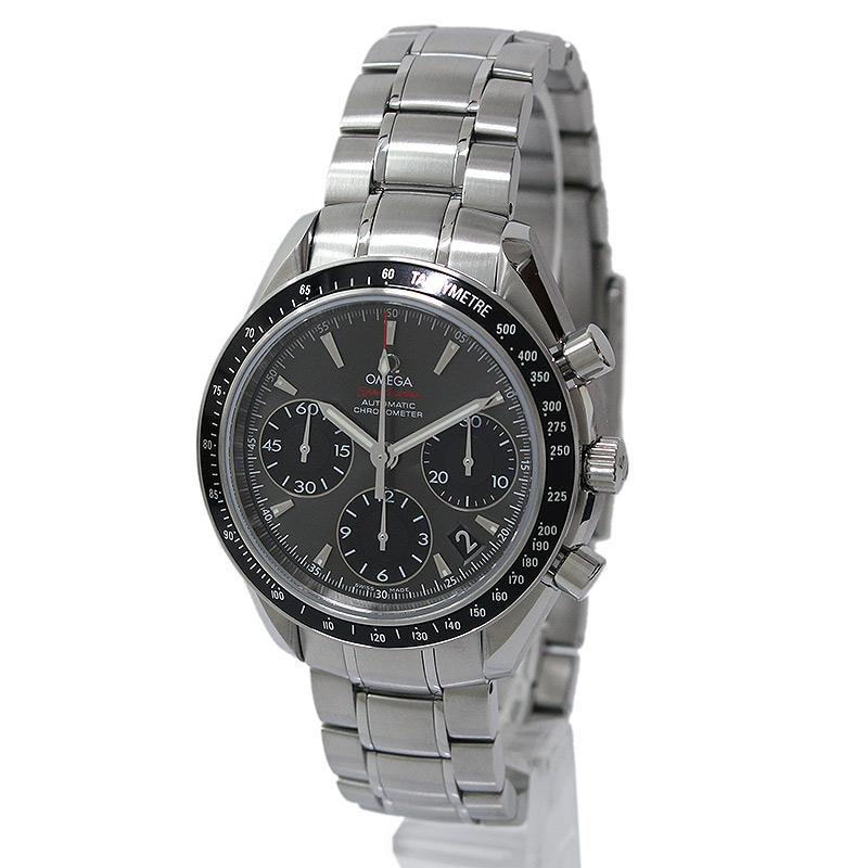 オメガ スピードマスター デイト クロノグラフ 腕時計 自動巻き 323.30.40.40.06.001 箱付【新品・未使用品】