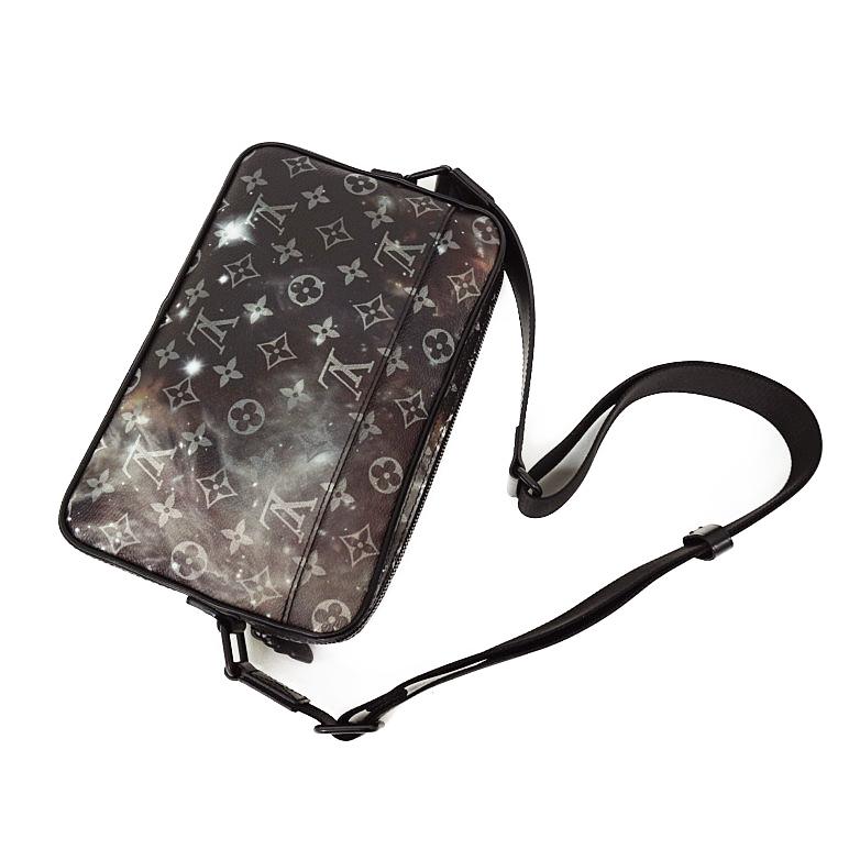 a9f8edc20ebc With Louis Vuitton monogram galaxy alpha messenger shoulder bag M44165 box