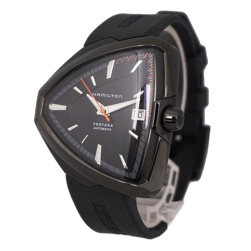 ハミルトン ベンチュラ エルヴィス80 自動巻き 腕時計 H245850 箱付【未使用 展示品】