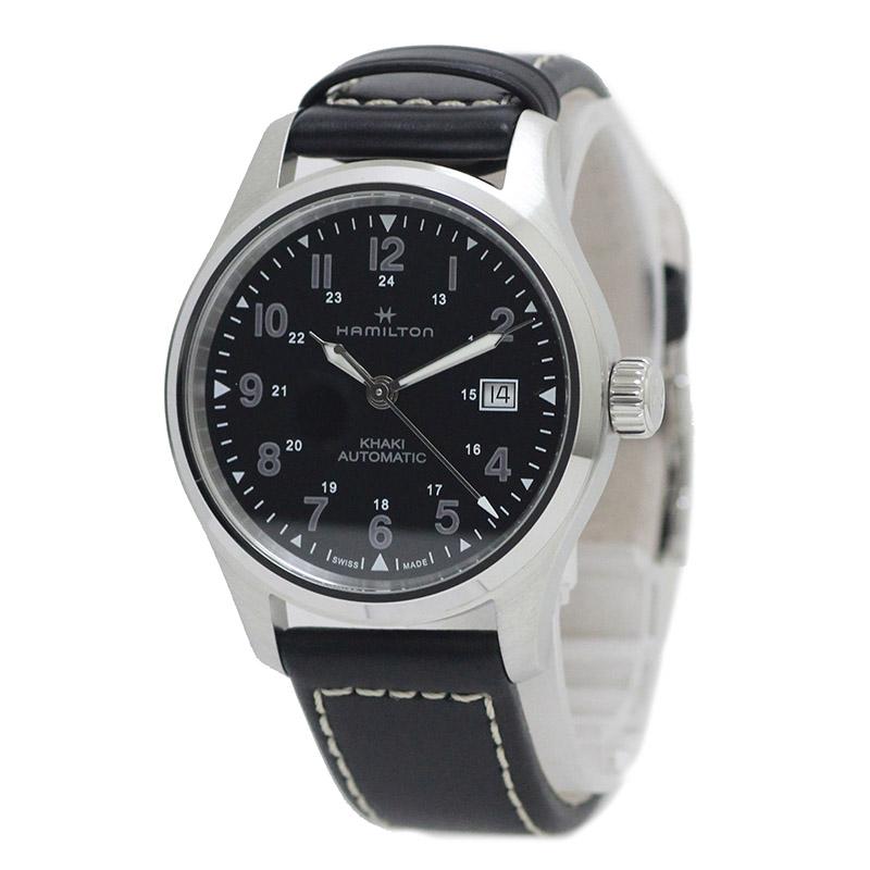 ハミルトン カーキフィールドオート ナノユニバース 自動巻き 腕時計 H893050 箱付【新品・未使用品】