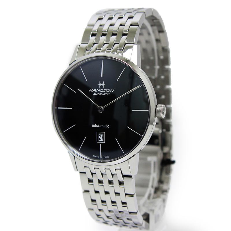 ハミルトン アメリカン クラシック イントラマティック 自動巻き メンズ 腕時計 H387551 箱付【新品・未使用品】