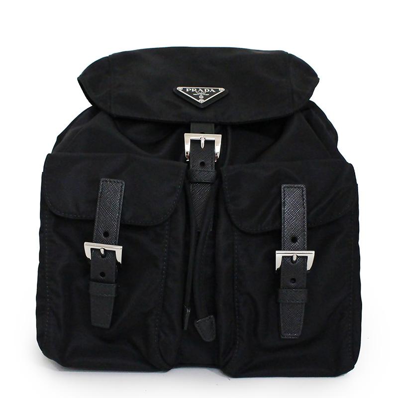 プラダ ナイロン リュック バックパック ブラック 黒 1BZ677【新品・未使用品】